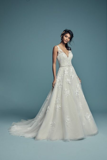 Meryl Lynette Wedding Dress from the Maggie Sottero Lucienne Fall 2018 Bridal Collection