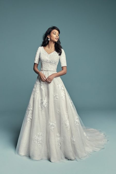 Meryl Marie Wedding Dress from the Maggie Sottero Lucienne Fall 2018 Bridal Collection