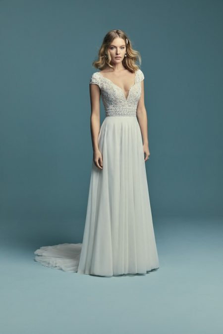 Monarch Wedding Dress from the Maggie Sottero Lucienne Fall 2018 Bridal Collection