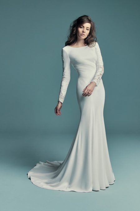 Olyssia Wedding Dress from the Maggie Sottero Lucienne Fall 2018 Bridal Collection