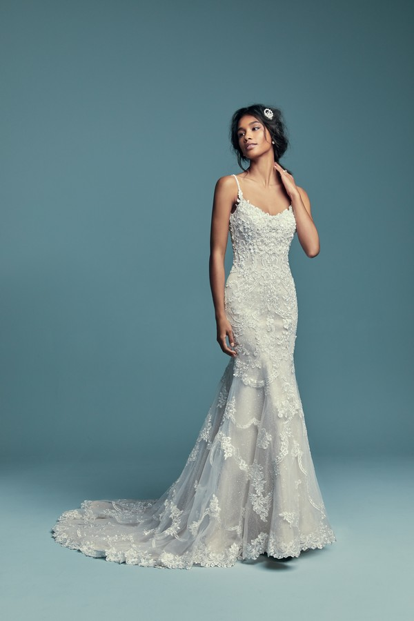 Riley Wedding Dress from the Maggie Sottero Lucienne Fall 2018 Bridal Collection