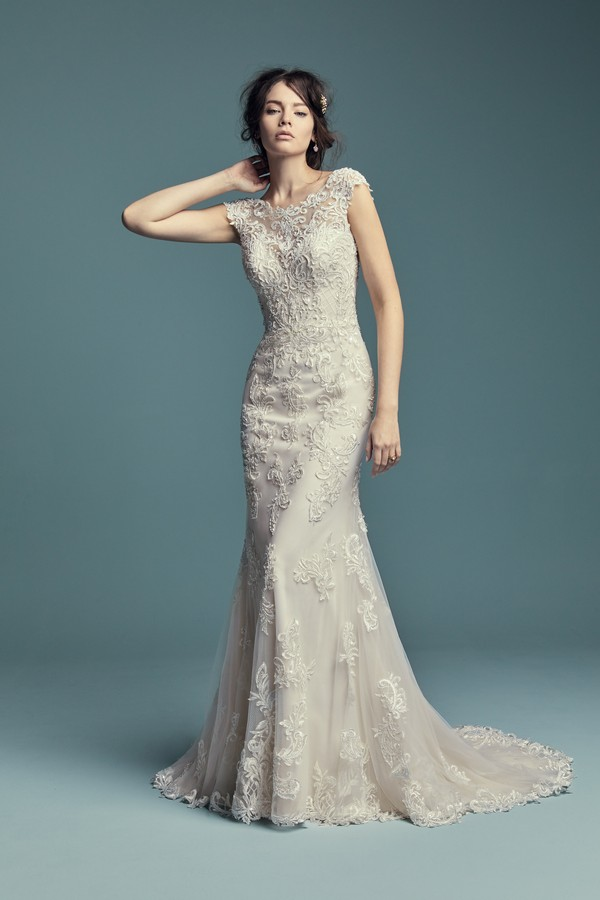 Rosanna Wedding Dress from the Maggie Sottero Lucienne Fall 2018 Bridal Collection