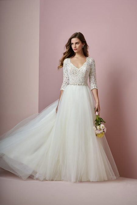 Scarlett Wedding Dress from the Rebecca Ingram Camille Fall 2018 Bridal Collection