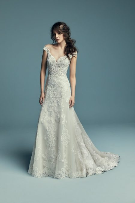 Serena Wedding Dress from the Maggie Sottero Lucienne Fall 2018 Bridal Collection