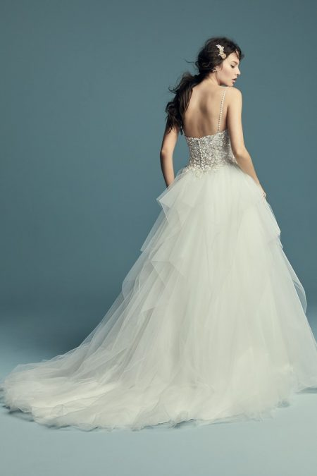 Back of Shauna Wedding Dress from the Maggie Sottero Lucienne Fall 2018 Bridal Collection