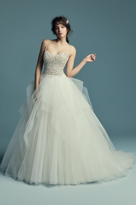 Shauna Wedding Dress from the Maggie Sottero Lucienne Fall 2018 Bridal Collection