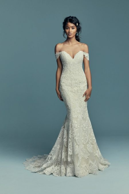 Stephanie Wedding Dress from the Maggie Sottero Lucienne Fall 2018 Bridal Collection