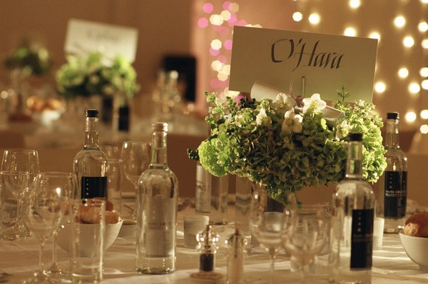 Table Styling Idea for Country House Wedding