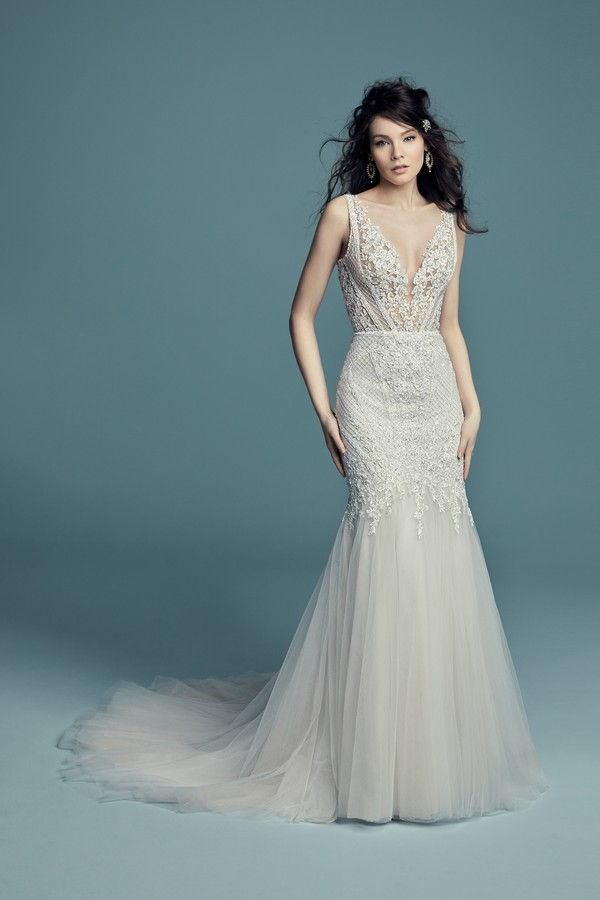 Tanner Wedding Dress from the Maggie Sottero Lucienne Fall 2018 Bridal Collection