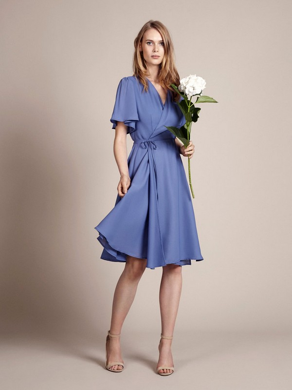 Tokyo Bridesmaid Dress in Bluebell by Rewritten
