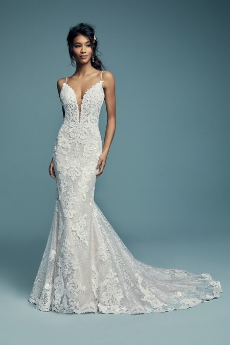 Tuscany Lynette Wedding Dress from the Maggie Sottero Lucienne Fall 2018 Bridal Collection