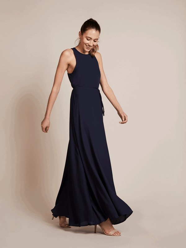 Vienna Bridesmaid Dress in Ink by Rewritten
