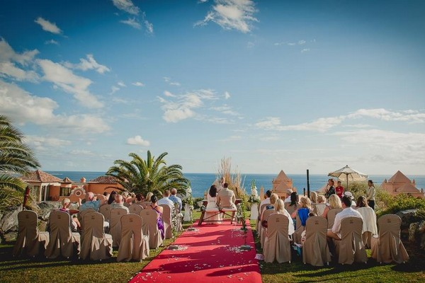 Wedding Ceremony at Vincci La Plantacion del Sur Hotel, Tenerife