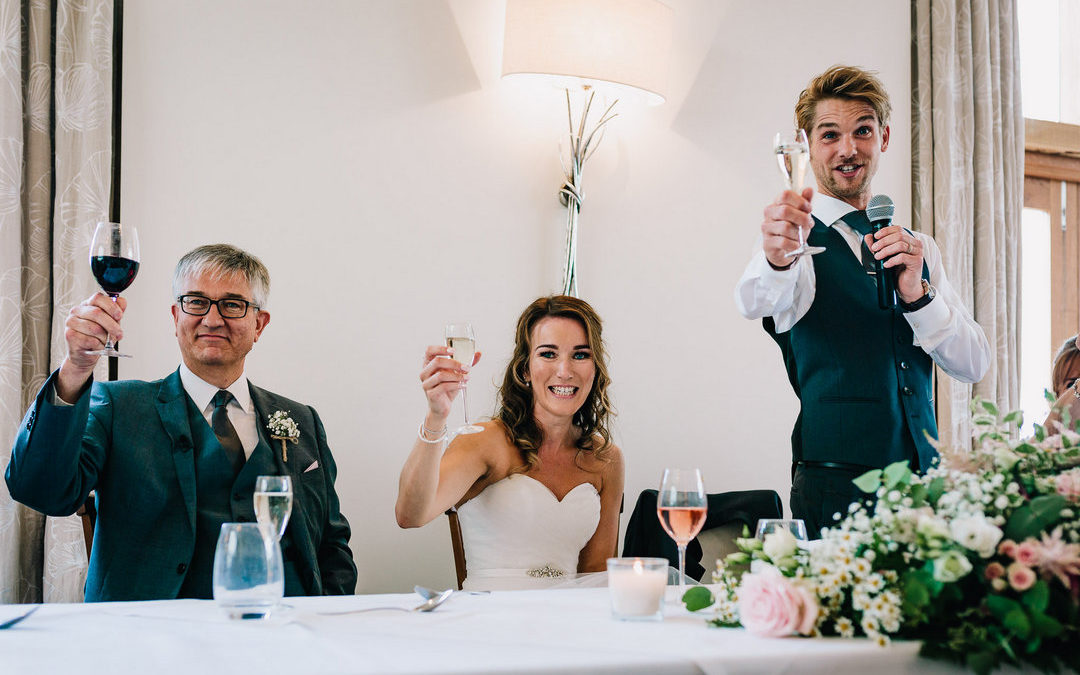 Wedding Toasts – How to End Your Speech with a Bang