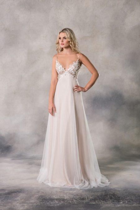 Alyssa Wedding Dress from the Anna Georgina Casablanca 2019 Bridal Collection