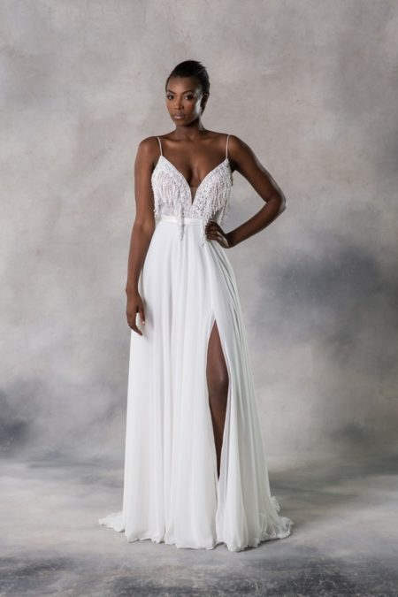 Amelia Wedding Dress from the Anna Georgina Casablanca 2019 Bridal Collection