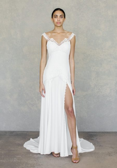 Angel Wedding Dress from the Claire Pettibone The White Album Spring 2019 Bridal Collection