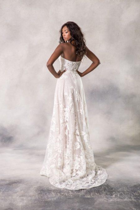 Back of Anina Wedding Dress from the Anna Georgina Casablanca 2019 Bridal Collection