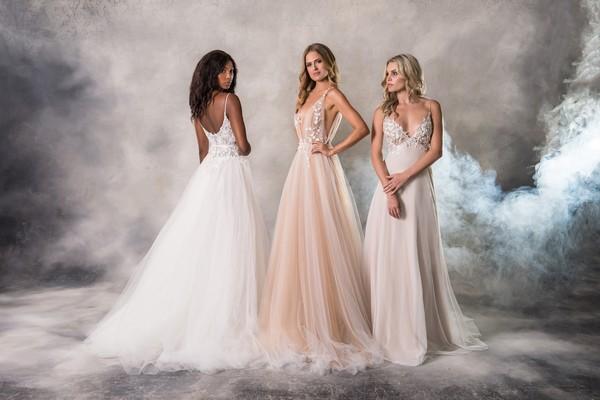 Anna Georgina Casablanca 2019 Bridal Collection - Holly, Roxy and Alyssa Dresses