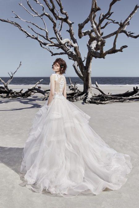 Back of Ariya Wedding Dress from the Sottero and Midgley Ariya Fall 2018 Bridal Collection