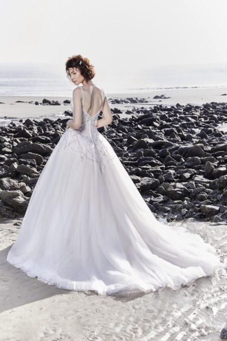 Back of Boston Wedding Dress from the Sottero and Midgley Ariya Fall 2018 Bridal Collection