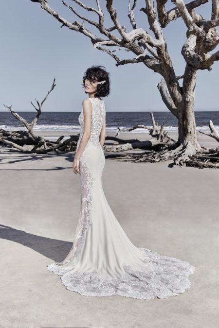 Back of Bradford Wedding Dress from the Sottero and Midgley Ariya Fall 2018 Bridal Collection