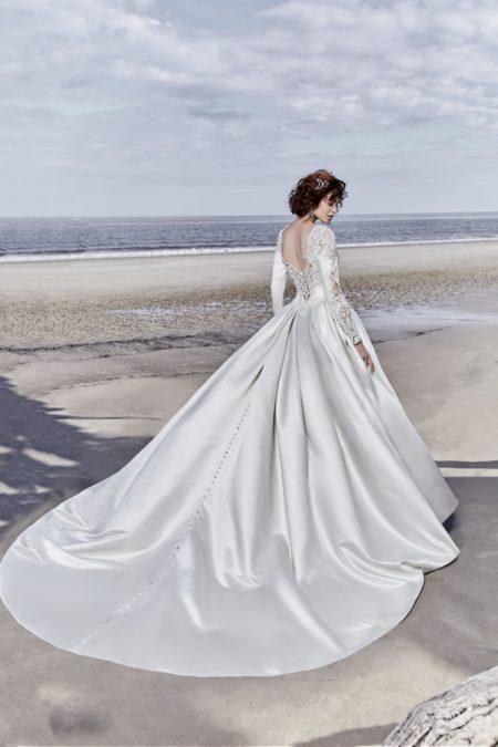 Back of Brennon Wedding Dress from the Sottero and Midgley Ariya Fall 2018 Bridal Collection