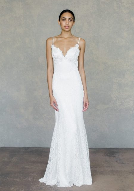 Caravan Wedding Dress in Ivory from the Claire Pettibone The White Album Spring 2019 Bridal Collection