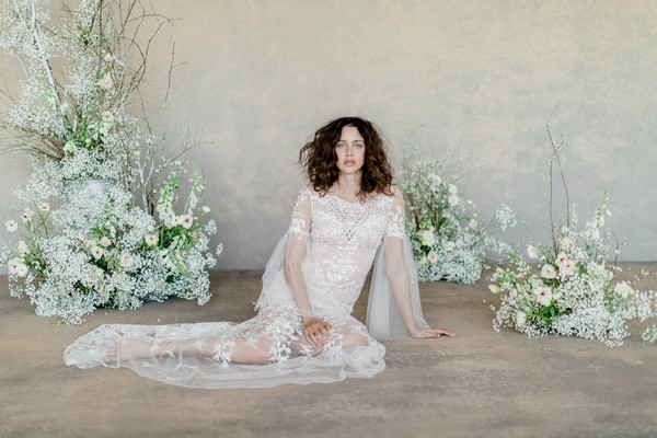 Claire Pettibone The White Album Spring 2019 Bridal Collection - Sahara Dress
