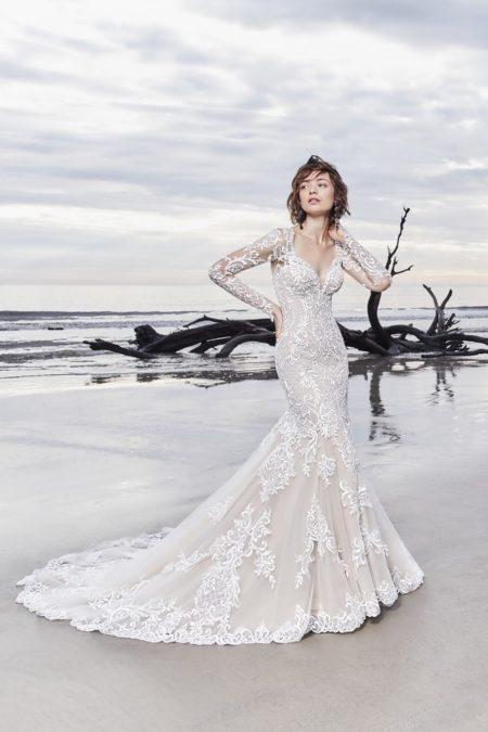 Dakota Wedding Dress from the Sottero and Midgley Ariya Fall 2018 Bridal Collection