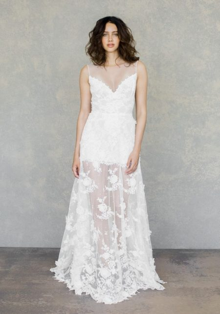 Dove Wedding Dress from the Claire Pettibone The White Album Spring 2019 Bridal Collection