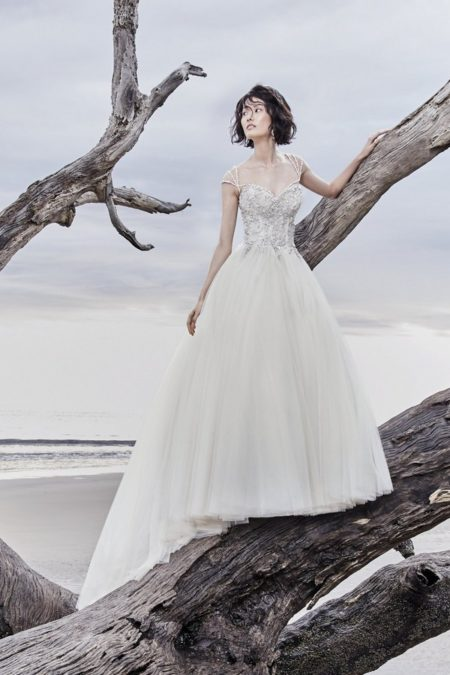 Dusty Wedding Dress from the Sottero and Midgley Ariya Fall 2018 Bridal Collection