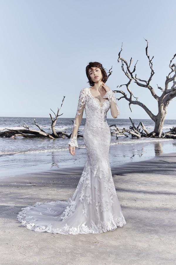 Ekaterina Wedding Dress from the Sottero and Midgley Ariya Fall 2018 Bridal Collection