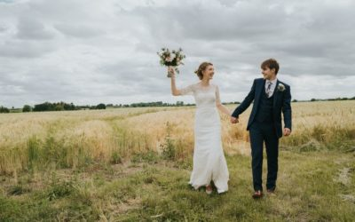 A Natural, Relaxed Village Hall Wedding