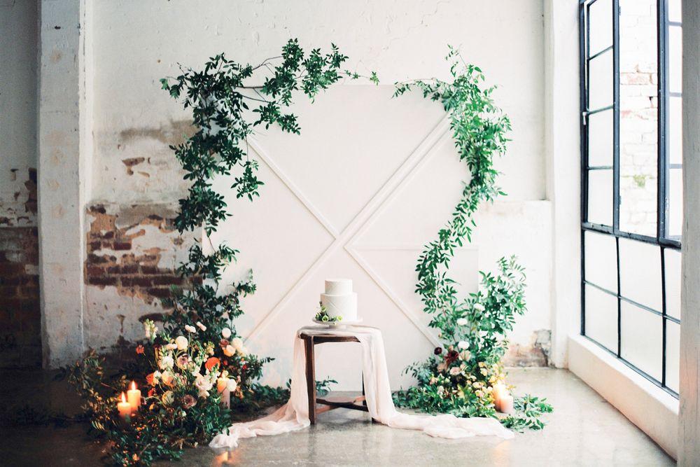 Modern Urban Loft Wedding Styling