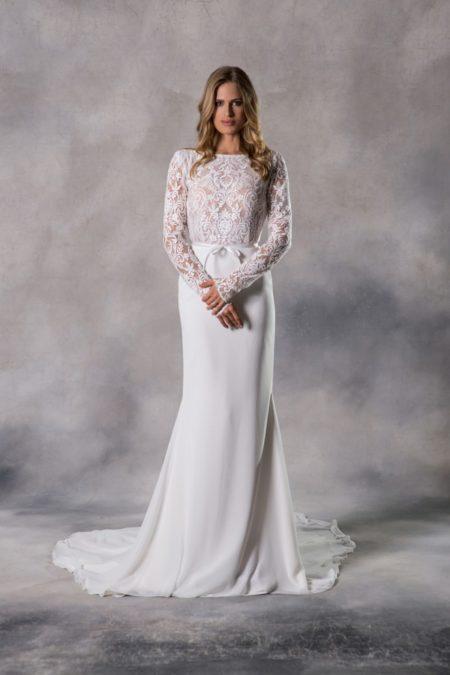 Georgia Wedding Dress from the Anna Georgina Casablanca 2019 Bridal Collection