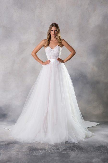 Grace Wedding Dress from the Anna Georgina Casablanca 2019 Bridal Collection