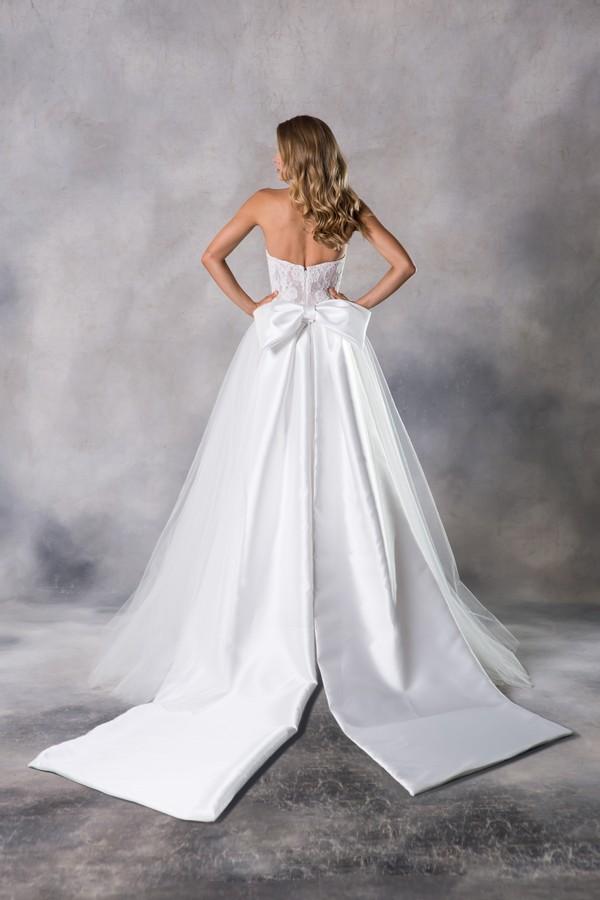 Back of Grace Wedding Dress from the Anna Georgina Casablanca 2019 Bridal Collection