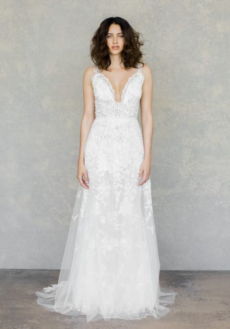 Gypsy Moon Wedding Dress from the Claire Pettibone The White Album Spring 2019 Bridal Collection