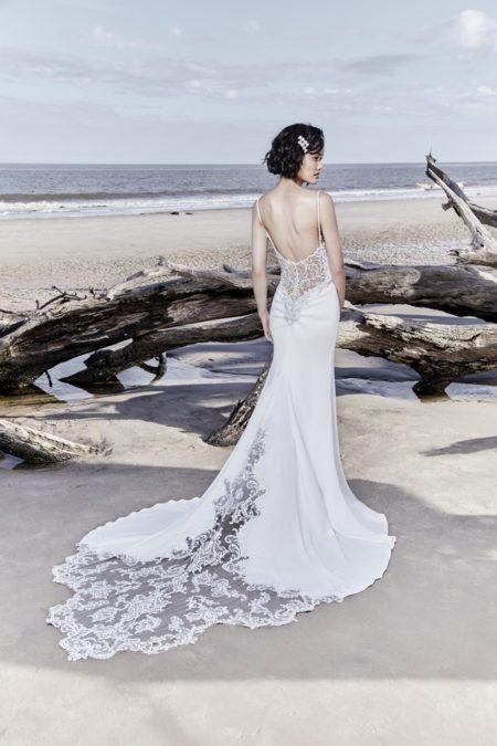 Back of Hayward Wedding Dress from the Sottero and Midgley Ariya Fall 2018 Bridal Collection