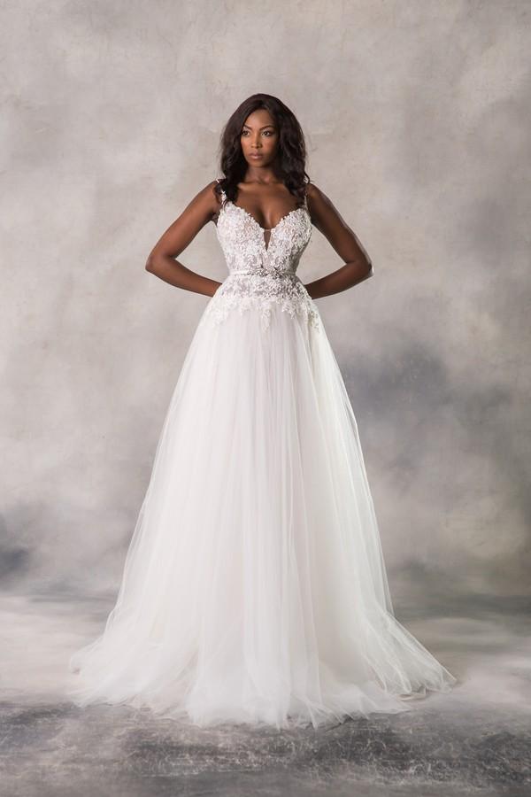 Holly Wedding Dress from the Anna Georgina Casablanca 2019 Bridal Collection