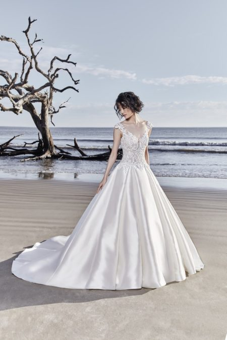 Huntington Wedding Dress from the Sottero and Midgley Ariya Fall 2018 Bridal Collection
