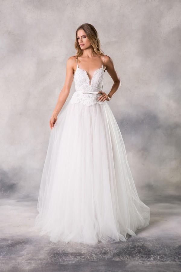 Kaylen Wedding Dress from the Anna Georgina Casablanca 2019 Bridal Collection