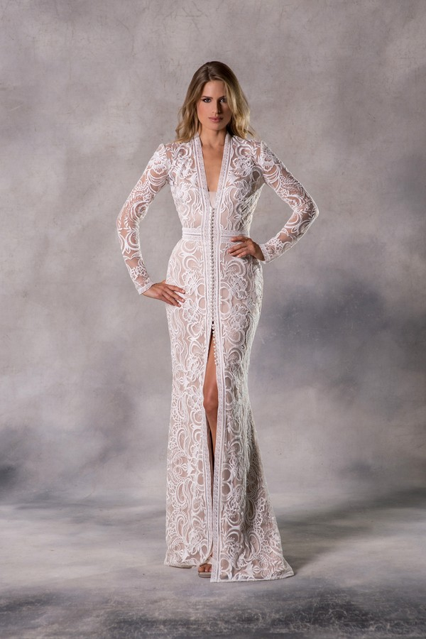Kennedy Wedding Dress from the Anna Georgina Casablanca 2019 Bridal Collection