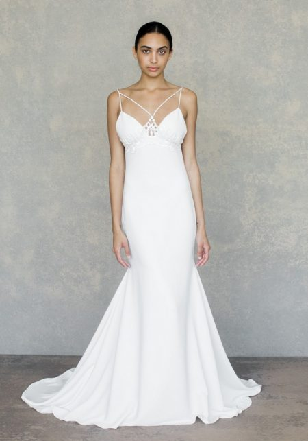 Lotus Wedding Dress from the Claire Pettibone The White Album Spring 2019 Bridal Collection