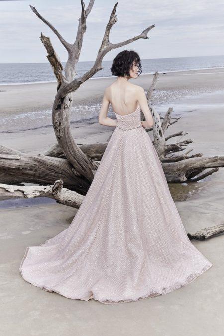 Back of Magdalyn Wedding Dress from the Sottero and Midgley Ariya Fall 2018 Bridal Collection
