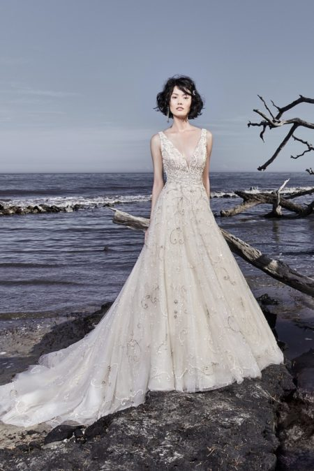 Maven Wedding Dress from the Sottero and Midgley Ariya Fall 2018 Bridal Collection