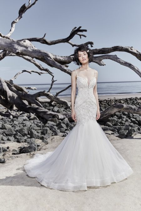 Nouvelle Wedding Dress from the Sottero and Midgley Ariya Fall 2018 Bridal Collection