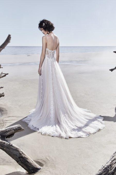 Back of Olson Wedding Dress from the Sottero and Midgley Ariya Fall 2018 Bridal Collection