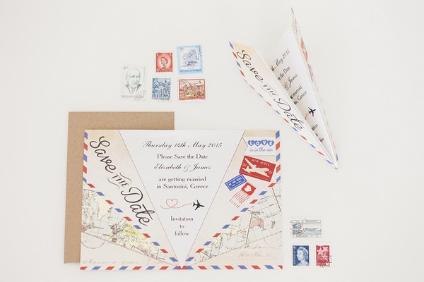 Paper Plane Save the Date
